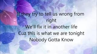 Why Don't We - Nobody Gotta Know (With Lyrics)