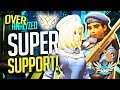 Overwatch Coaching - GM SUPER Support! Ana, Moira, Mercy! [OverAnalyzed]