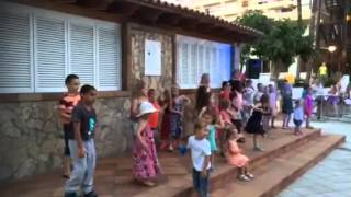 Majorca 2015 kids entertainment Hotel belvedere