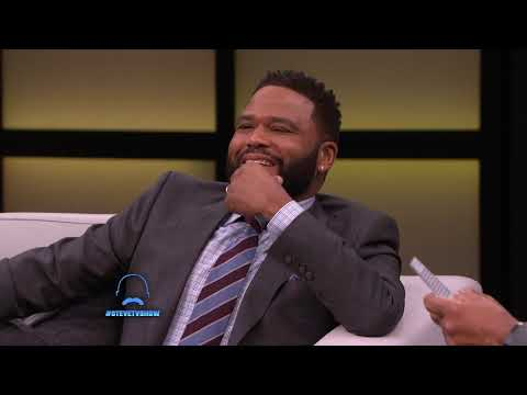 Anthony Anderson's Mama Scares Steve