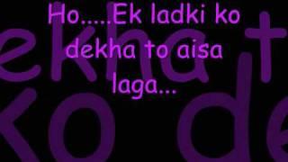 Ek Ladki ko Dekha -1942, ek love story