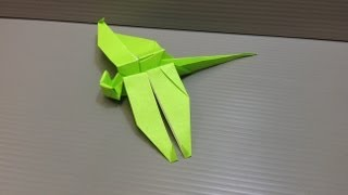 Daily Origami: 062 - Dragonfly