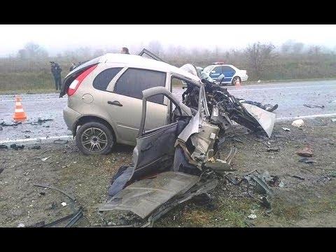 Tödliche und tragische Autounfälle Russland 2016 - YouTube