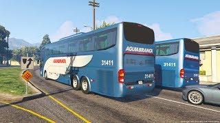 Video GTA V BusVlog: VIAÇÃO ÁGUIA BRANCA Ônibus Marcopolo G6 1550 LD 6x2 #16 download MP3, 3GP, MP4, WEBM, AVI, FLV Juli 2018