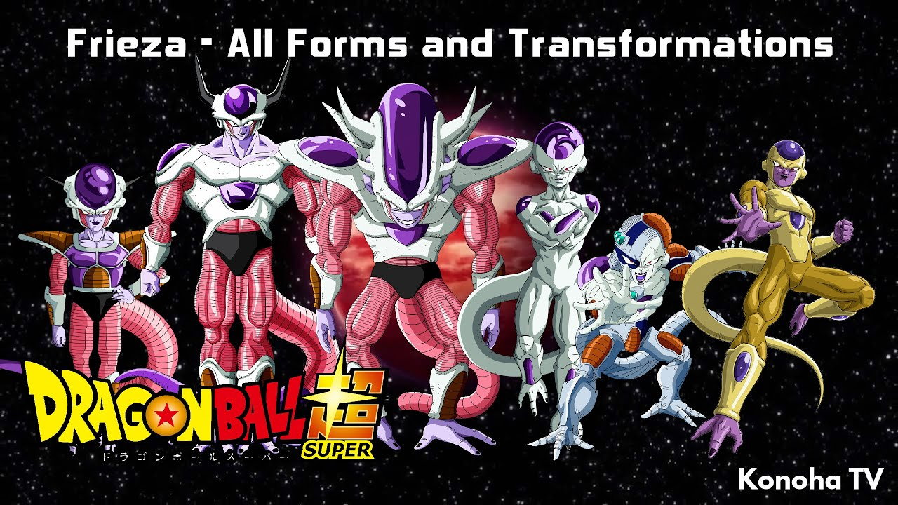 Frieza - All Forms and Transformations (Dragon Ball Z ...