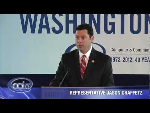 Representative Jason Chaffetz CCIA Washington Caucus 2012