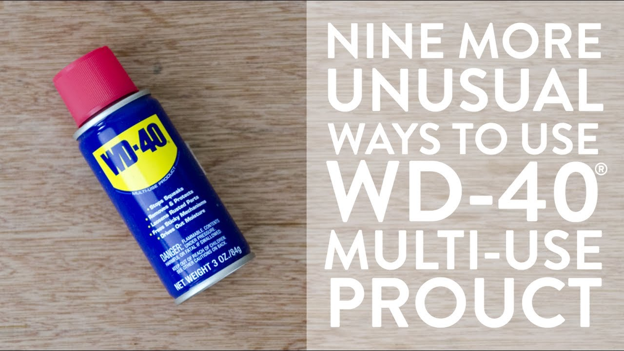 Nine Uses For Wd 40 Multi Use Product Youtube