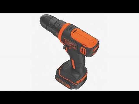 Product Reviews .... Black & Decker BDCDD12C 12V MAX Lithium Drill