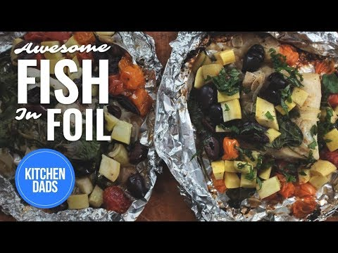 How to grill fish in foil fish in foil recipe l kitchen for How to grill fish in foil