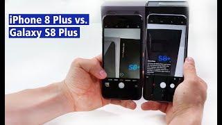iPhone 8 Plus und Samsung Galaxy S8 Plus im Vergleich - deutsch - HD