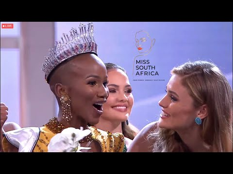 Miss South Africa 2020 - Full Crowning Moment ✨👑