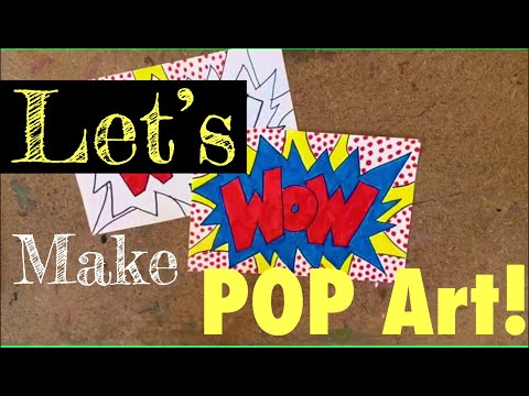 Let's make POP art like Roy Lichtenstein! from YouTube · Duration:  4 minutes 47 seconds