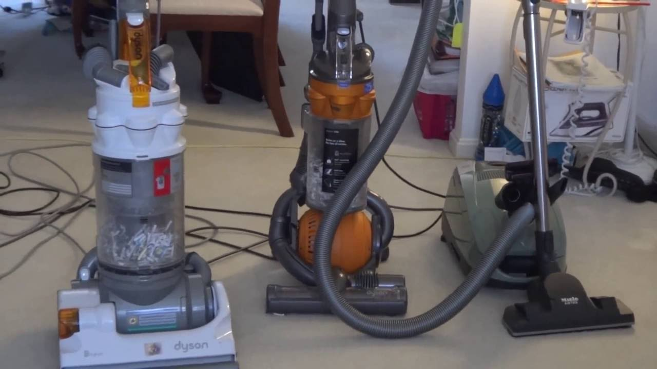 Dyson Upright Vacuums Vs Miele S6 Canister Vacuum