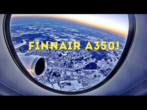 FINNAIR A350, BUSINESS CLASS - HELSINKI TO LONDON HEATHROW