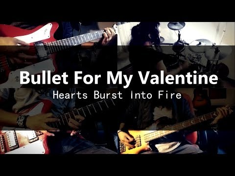 Bullet For My Valentine - Hearts Burst Into Fire  (instrumental cover)