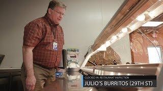 Clocked In: Restaurant inspections - Julio's Burritos (29th St.)