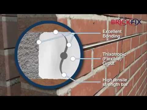 Новые технологии ликвидации трещин в кирпичных стенах.