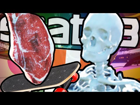Skate 3 | MEAT SKATING & CRAZY CUSTOM PARKS!!