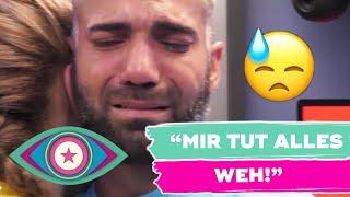 Eine FLUT aus TRÄNEN: Rafi bricht zusammen!! | Promi Big Brother 2021