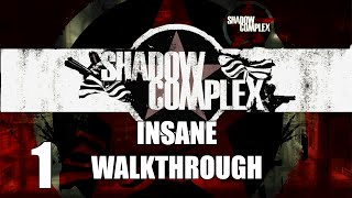 Shadow Complex Insane Walkthrough: Part 1 - Game Start