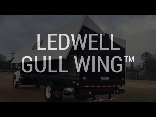 Ledwell Gull Wing™  Truck - Curtain Truck