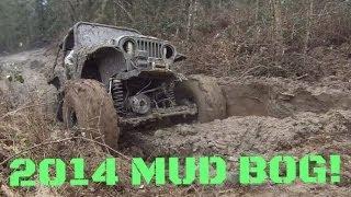 trucks in mud