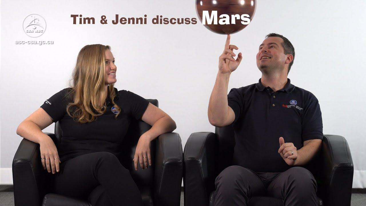 Tim and Jenni discuss Mars