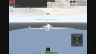 Roblox vôo para o aeroporto de Heathrow