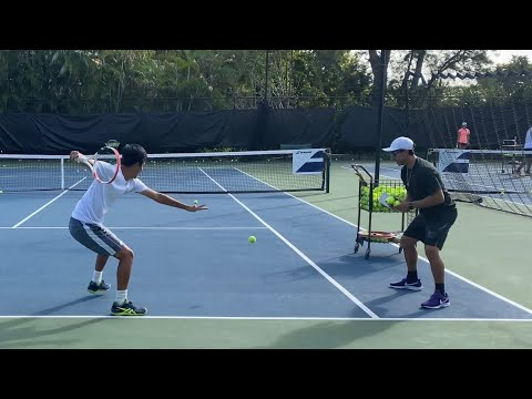 HIGH PERFORMANCE TENNIS DRILLS FOR ALL AGES with Coach Dabul / ATP / Intensity / Tennis Training