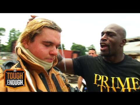 Titus gives ZZ a lesson in fire safety: WWE Tough Enough Digital Extra, August 4, 2015