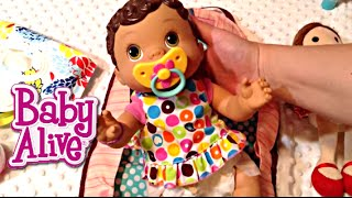 Baby Alive Changing Time Doll Olivia's Night Routine