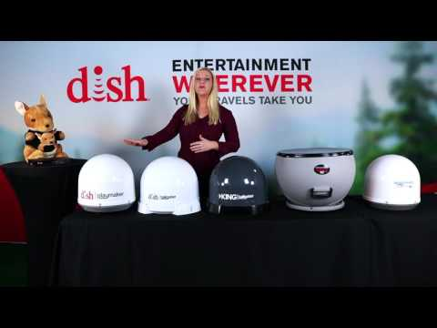 Dish Satellite Antenna Options