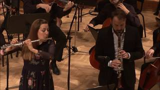 Danzi, Sinfonia Concertante for flute & clarinet (Irena Kavčič, Tommaso Lonquich, RTV Slovenia)