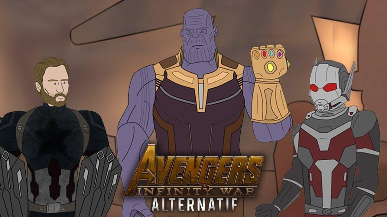 Alternatif Avengers Infinity War Parodie Dessin Anime Youtube