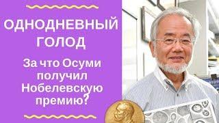 видео: Однодневный голод. За что Осуми получил Нобелевскую премию?