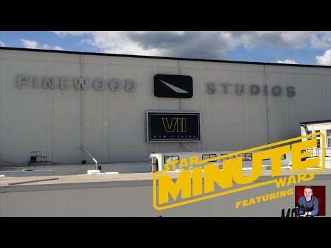 Pinewood Studios (Behind the Scenes) Featuring Joel Robinson - Star Wars Minute