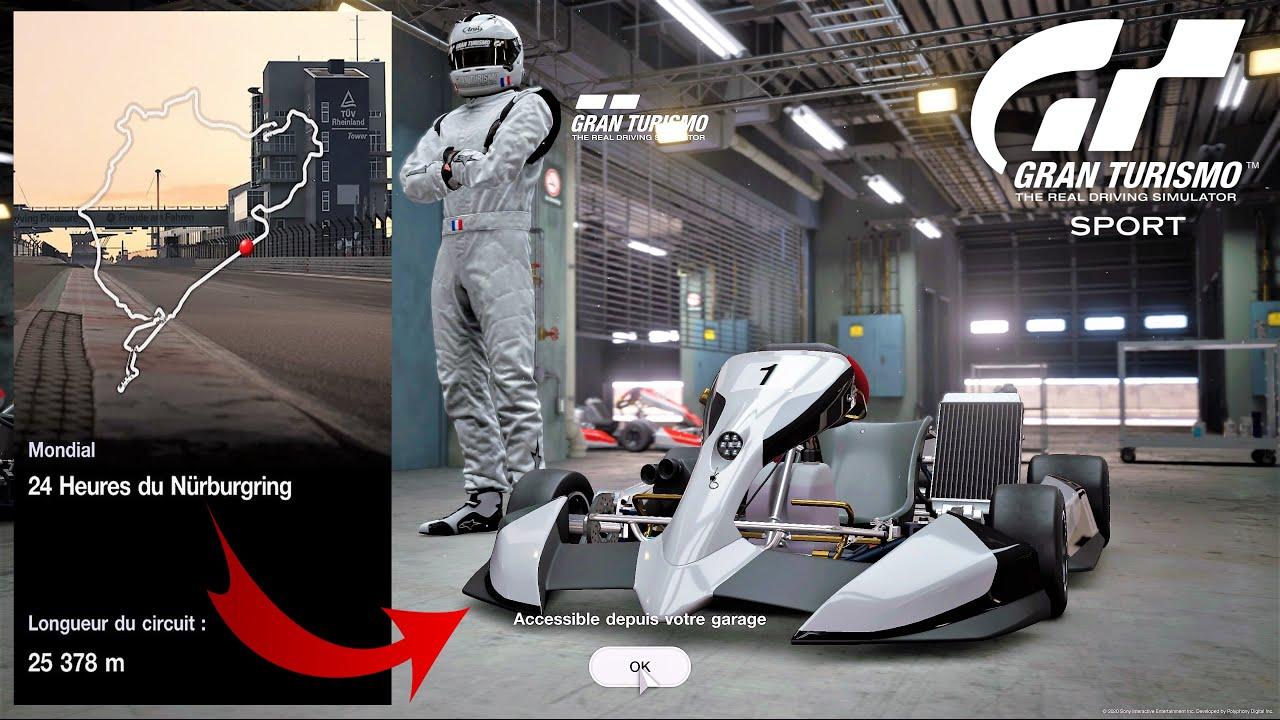 GTSport le Nürburgring en karting ✌