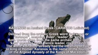 Ancient Macedonian names part I