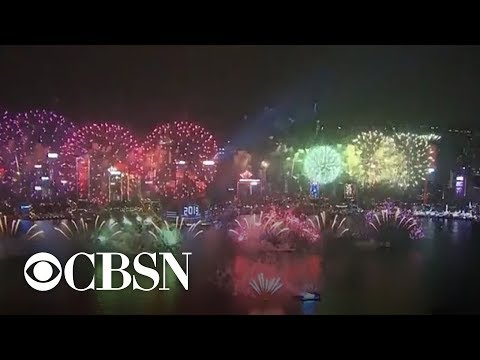 2019 New Year's celebrations across the globe