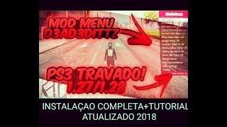 GTA 5 ONLINE: MOD MENU+INSTALAÇÃO COMPLETA [1.27 [PS3 TRAVADO] 2018/2019