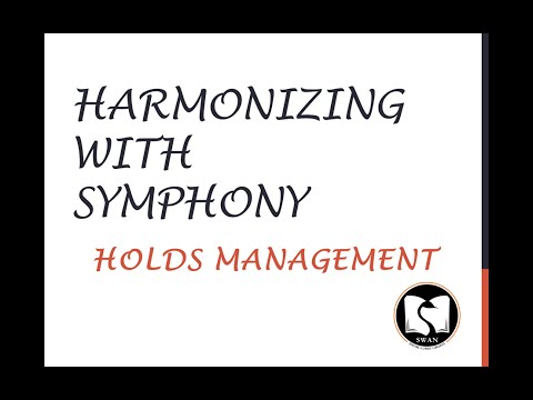 Harmonizing With Symphony - Holds Management