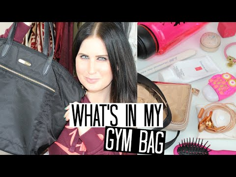 what's-in-my-gym-bag!