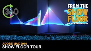 Show Floor Tour @ Adobe MAX 2016