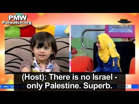 """Hamas brainwashes children: """"There is no Israel - only Palestine"""""""