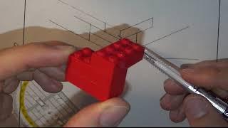 Technisches Zeichnen: Isometrische Projektion