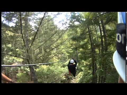 The Challenger - Sonoma Canopy Tours & The Challenger - Sonoma Canopy Tours - YouTube