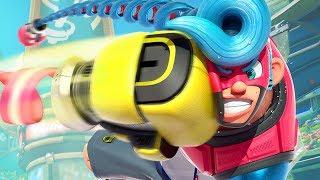 ACHAVA QUE ESSE JOGO IA SER ZUADO MAS É BEM DIVERTIDO!!! (Arms Gameplay Nintendo Switch)