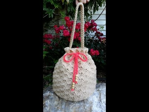 CROCHET How to #Crochet Shell Stitch - Crochet Purse Handbag #TUTORIAL #80 supersaver