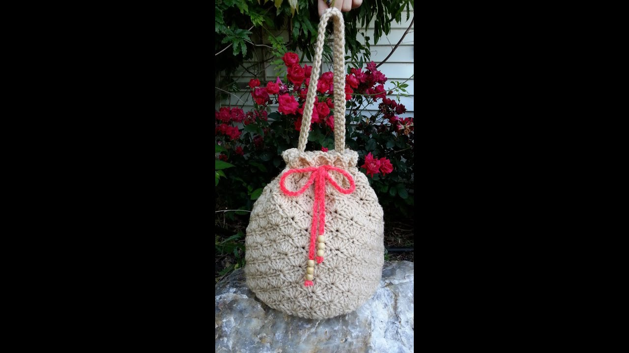 Crochet how to crochet shell stitch crochet purse handbag crochet how to crochet shell stitch crochet purse handbag tutorial 80 supersaver ccuart Image collections