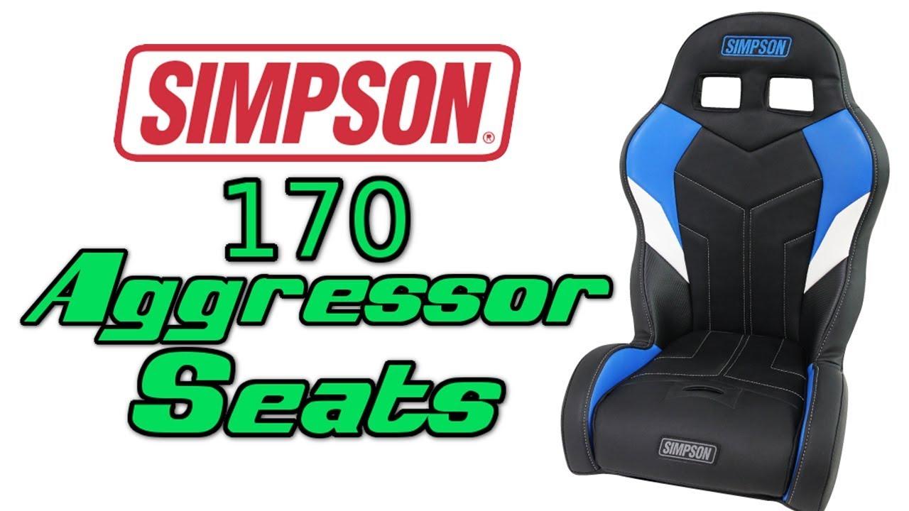 Simpson Custom 170 Aggressor Seats